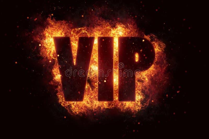 Download Vip Text Flame Flames Burn Burning Hot Explosion Stock Illustration - Illustration of illustration, blazing: 89057561