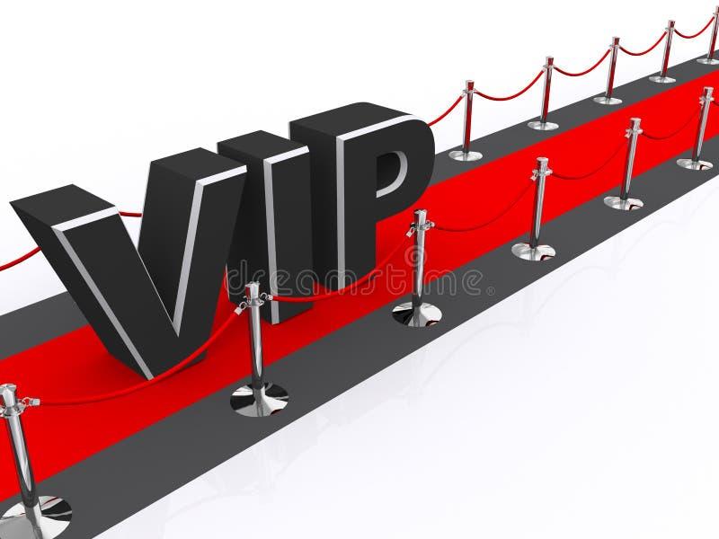VIP van de première stock illustratie