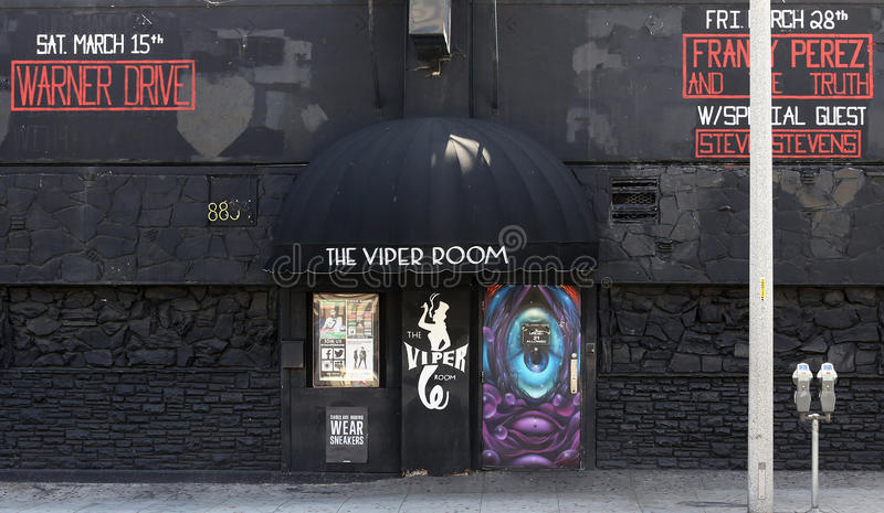 The Viper Room editorial image. Image of music, night - 41072725