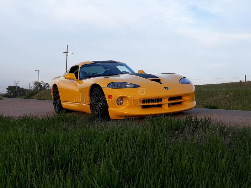 2001 Viper SRT10 royalty free stock image