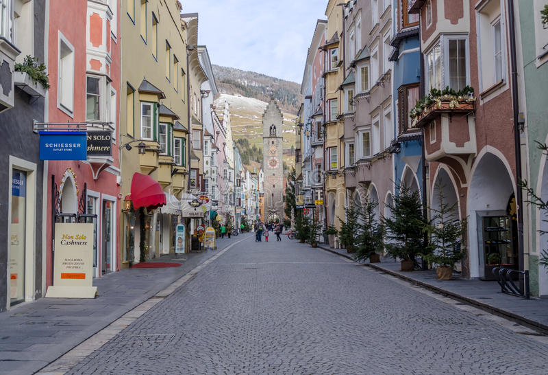 Vipiteno - Italien royaltyfri foto