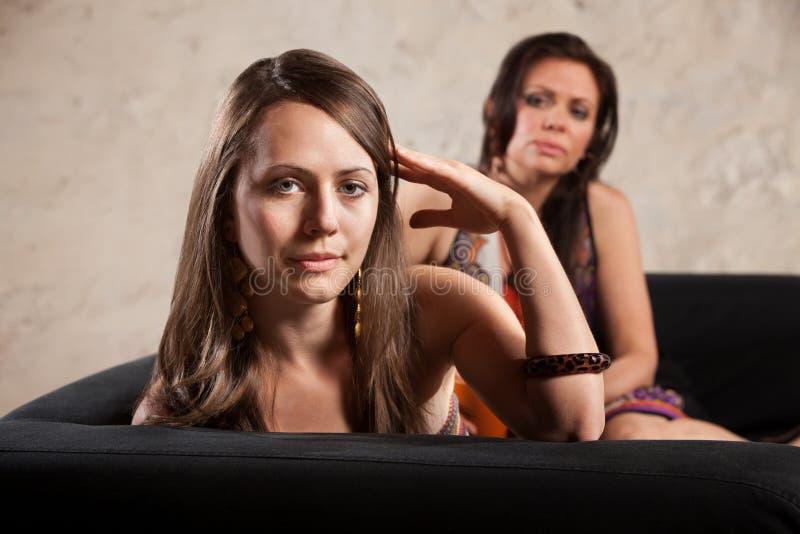 Virages de femme à partir de personne photo libre de droits