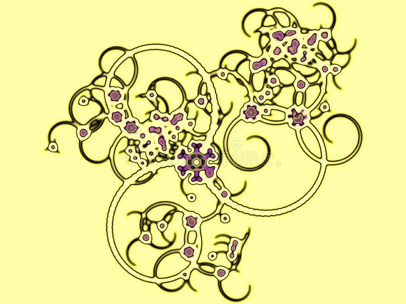 Download Viral infection stock illustration. Illustration of dynamic - 4370002