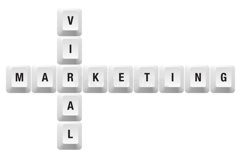 Download Viral marketing key stock vector. Illustration of computer - 18094862