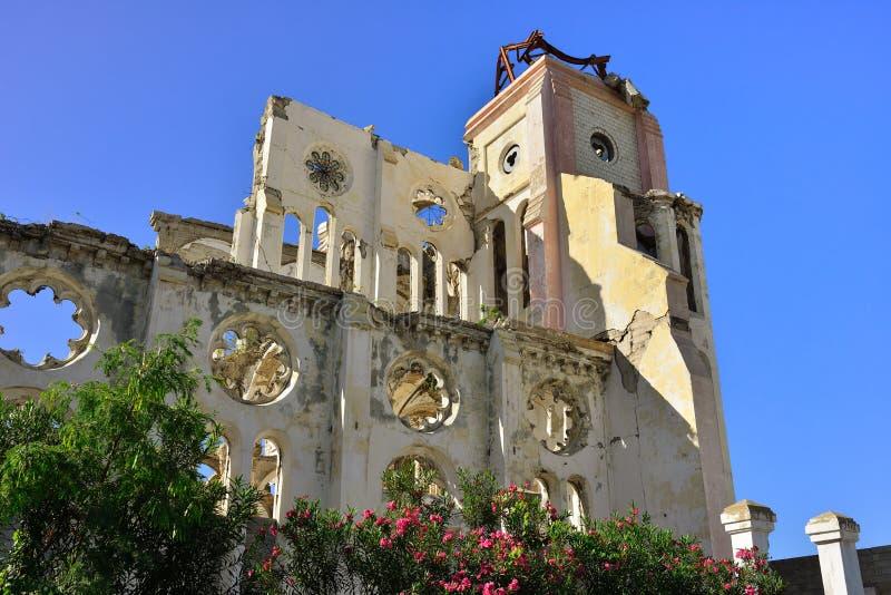 Vire al capital del príncipe hacia el lado de babor del au de la República de Haití, fotos de archivo