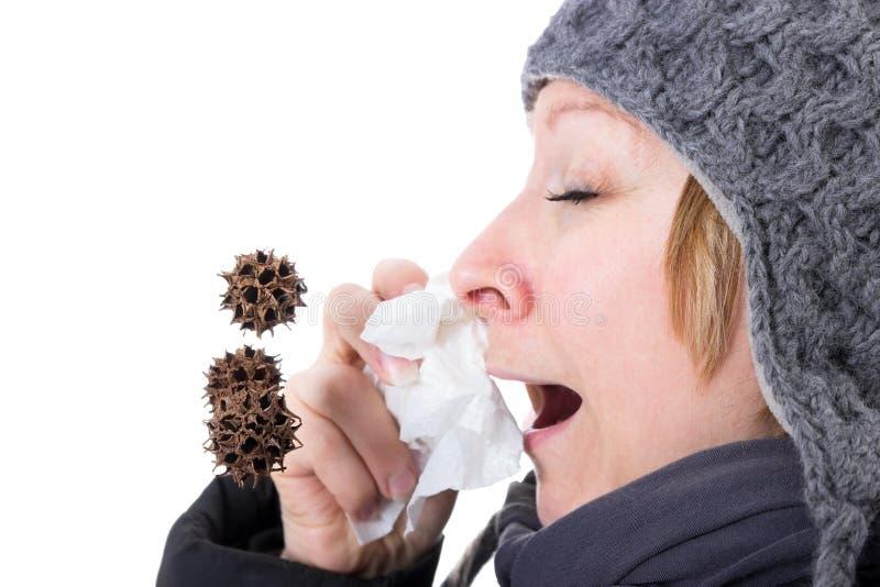 Viren in der Luft lizenzfreies stockfoto