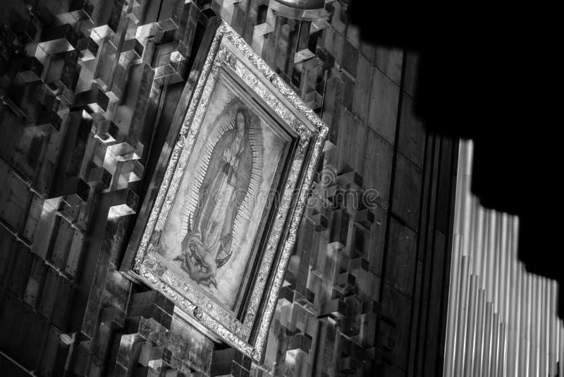 Virgen DE Guadalupe royalty-vrije stock afbeeldingen