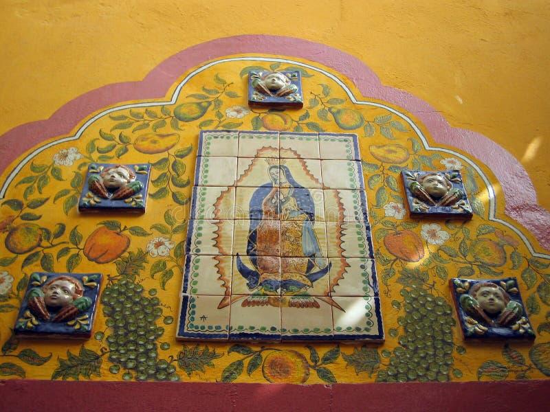 Virgen de Guadalupe foto de archivo libre de regalías