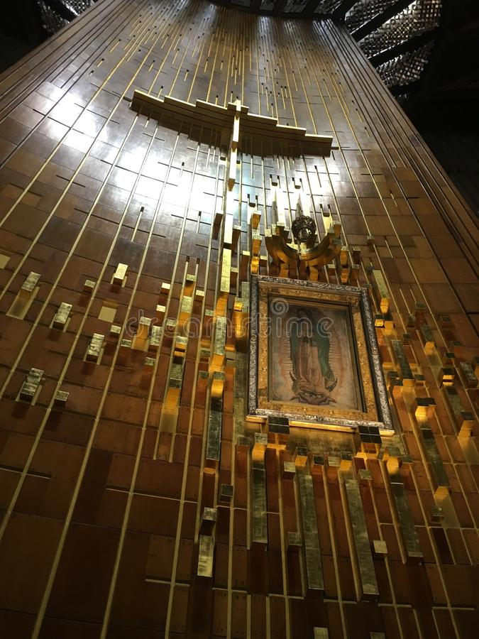 Virgen de Guadalupe royalty free stock photo