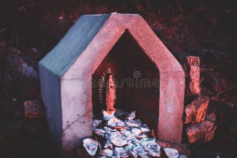 Virgen de Guadalupe Todos Santos fotografía de archivo libre de regalías