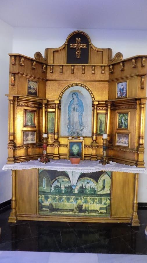 Virgen de Guadalupe-Vera Almaeria-ANDALUCÍA-ESPAÑA imágenes de archivo libres de regalías