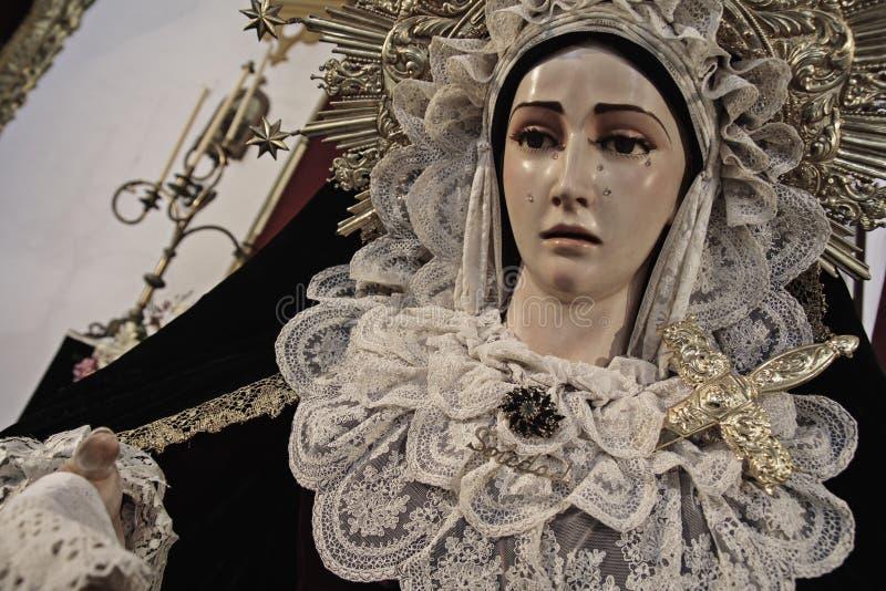 Virgen de la Soledad lizenzfreie stockfotos