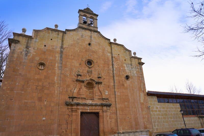 Virgen DE La Vega kerk in Teruel Spanje royalty-vrije stock afbeelding
