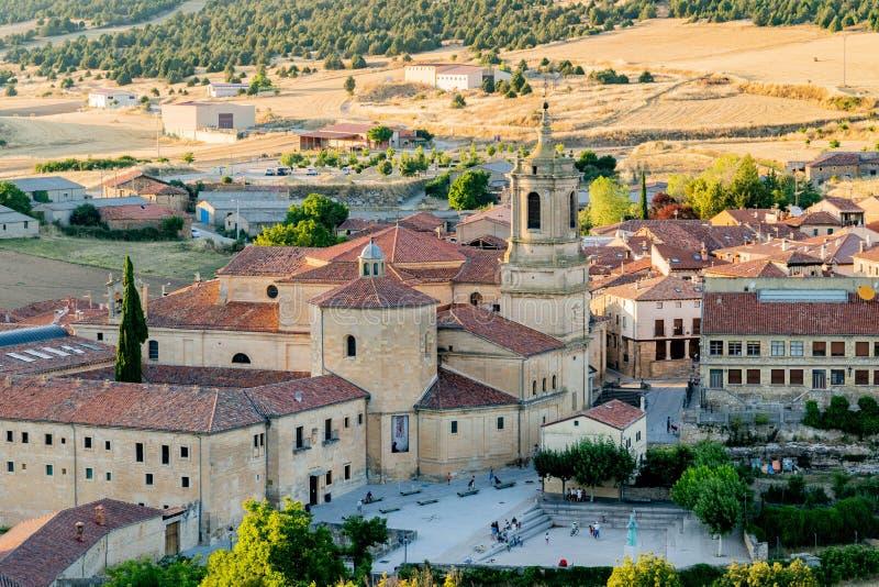 Virgen del Camino的教会 库存照片