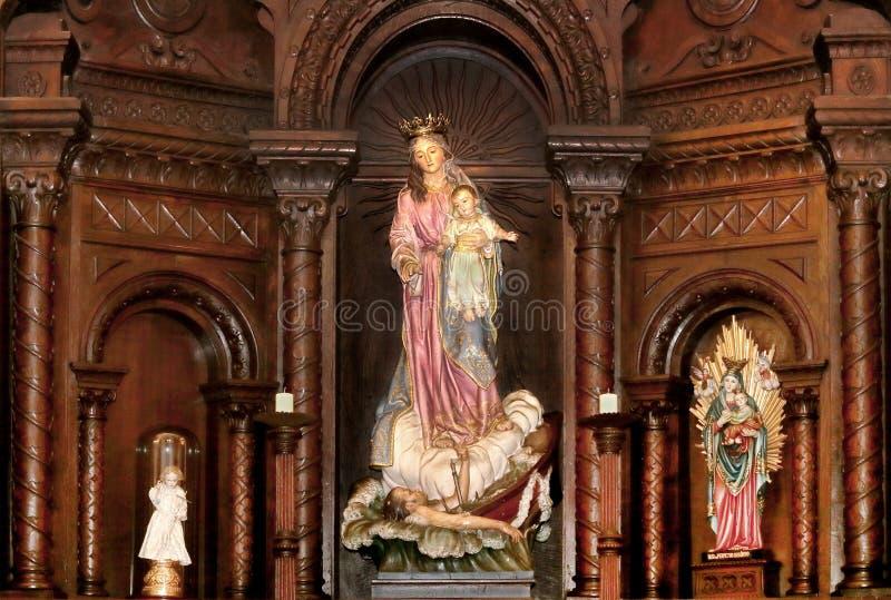 Virgen María foto de archivo