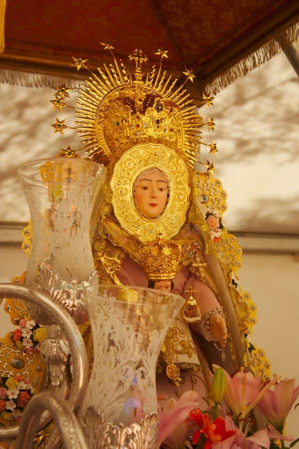 Virgen Maria bendecida fotos de archivo libres de regalías