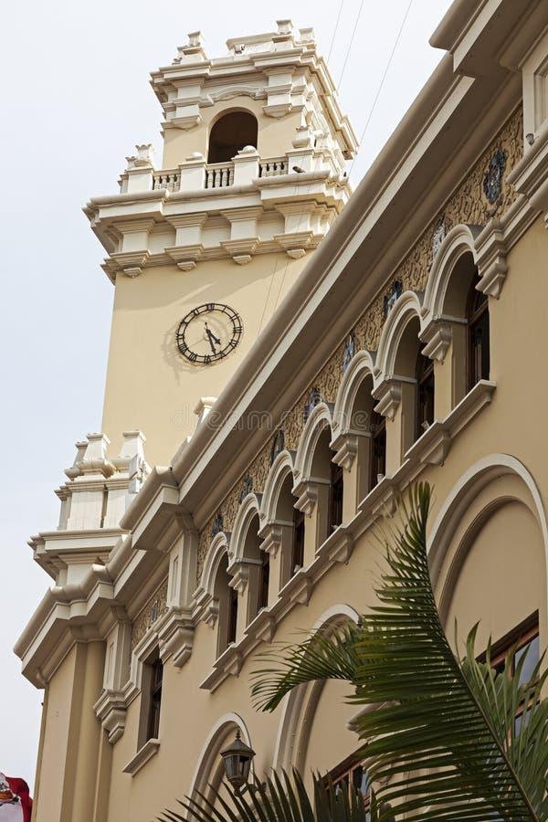 Virgen Milagrosa Church dans Miraflores, Lima image libre de droits