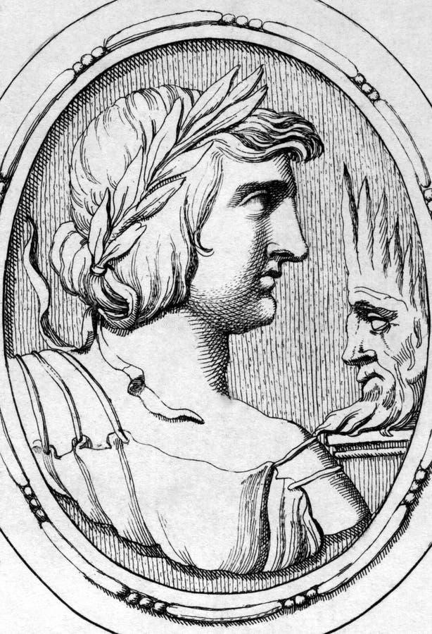 Virgil ilustracja wektor
