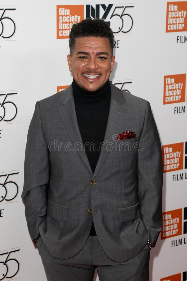 Virgil Williams. Writer Virgil Williams attends the `Mudbound` premiere at Alice Tully Hall at Lincoln Center during the 55th New York Film Festival on October royalty free stock photo