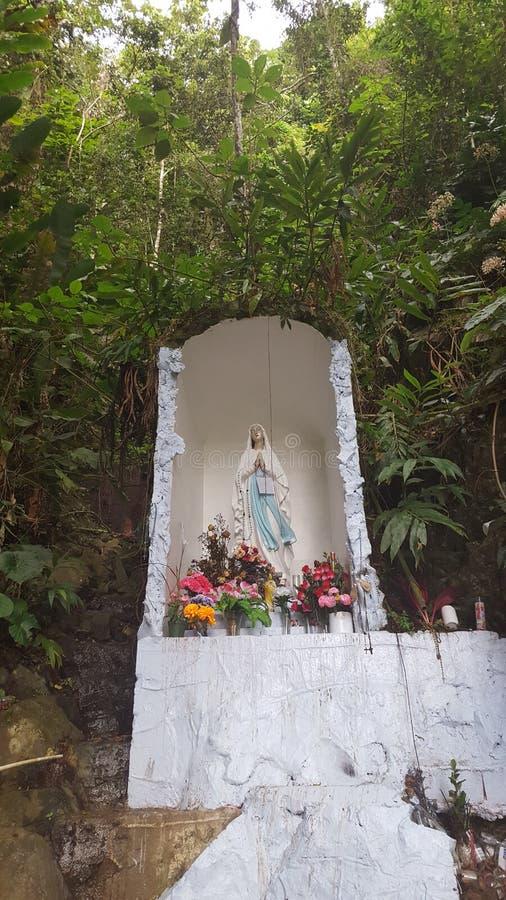 Virgin στα βουνά στοκ φωτογραφία