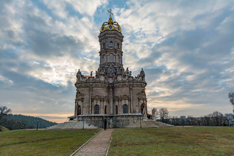 virgin знака церков dubrovitsy святейший стоковые изображения rf