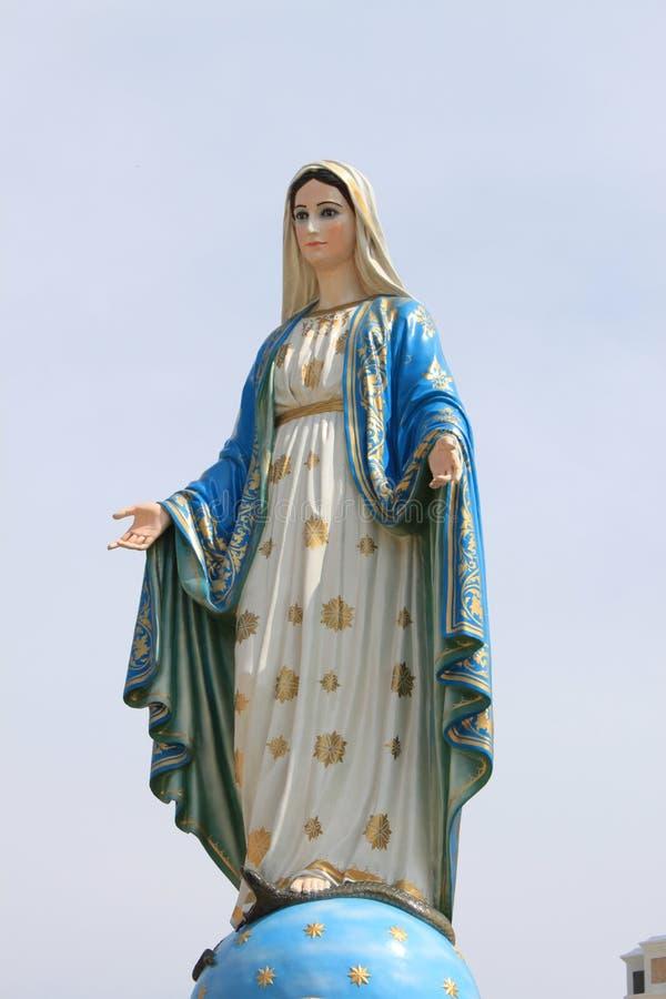 virgin статуи mary стоковые изображения rf