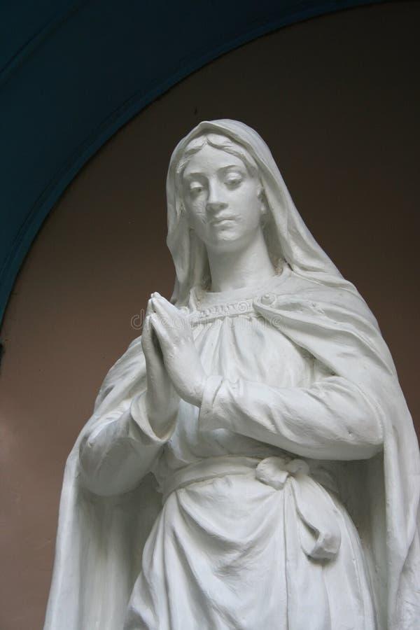virgin статуи mary стоковое изображение rf