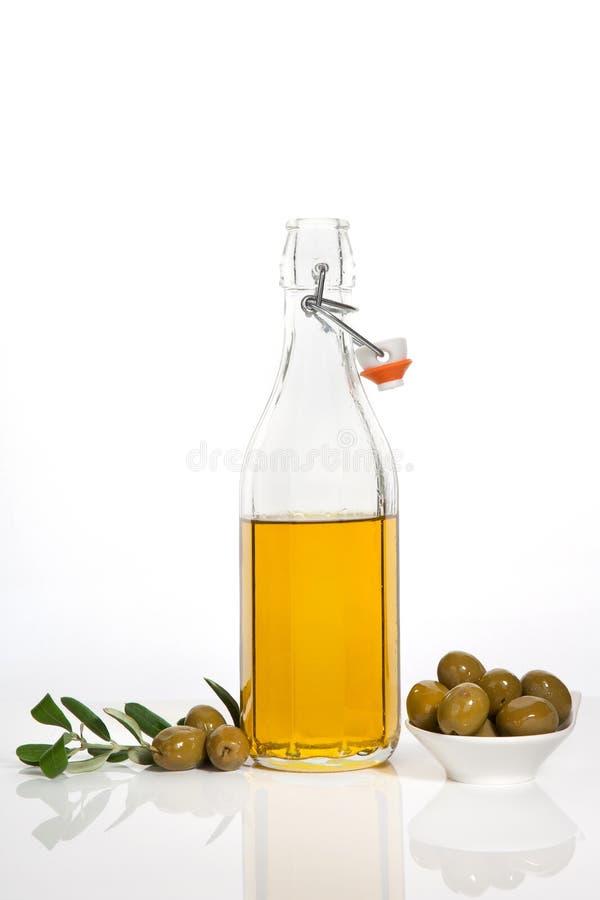 virgin экстренного роскошного масла предпосылки прованский стоковое фото