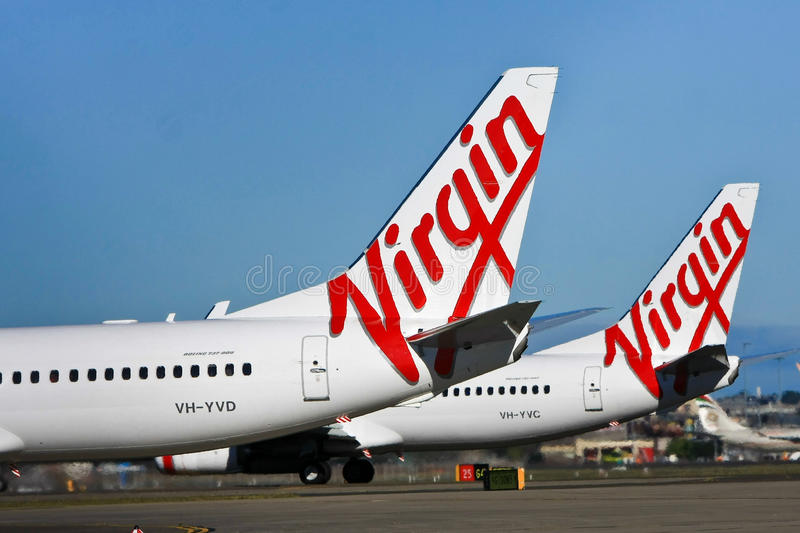 Download Virgin Airlines Australia Aircraft Logo Editorial Stock Image - Image: 24848564