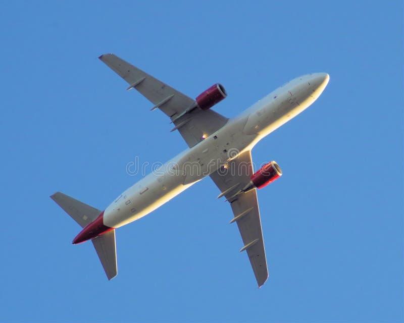 Virgin America flygbuss 320-200 (N 639VA) royaltyfria foton