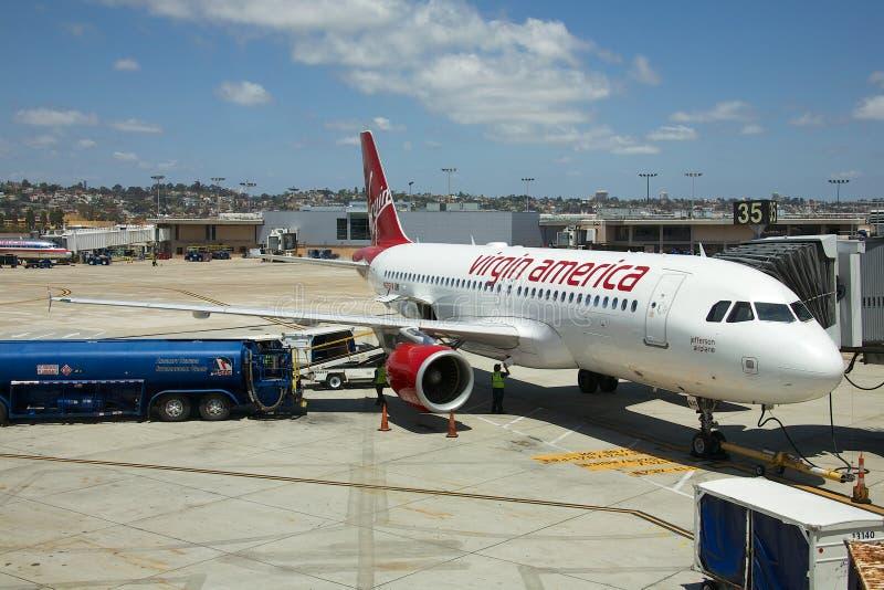 Virgin Amerika lizenzfreies stockbild