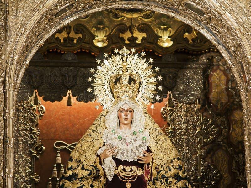 Virgin di Macarena fotografia stock libera da diritti