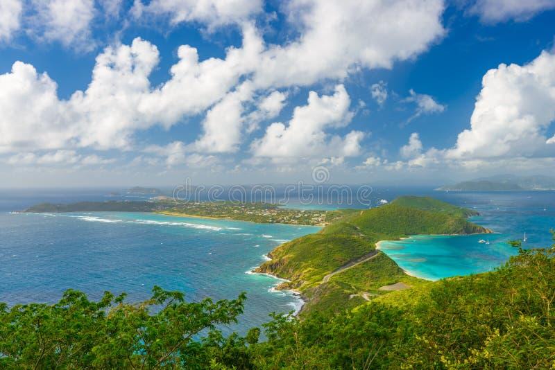 Virgin Gorda, British Virgin Islands imágenes de archivo libres de regalías