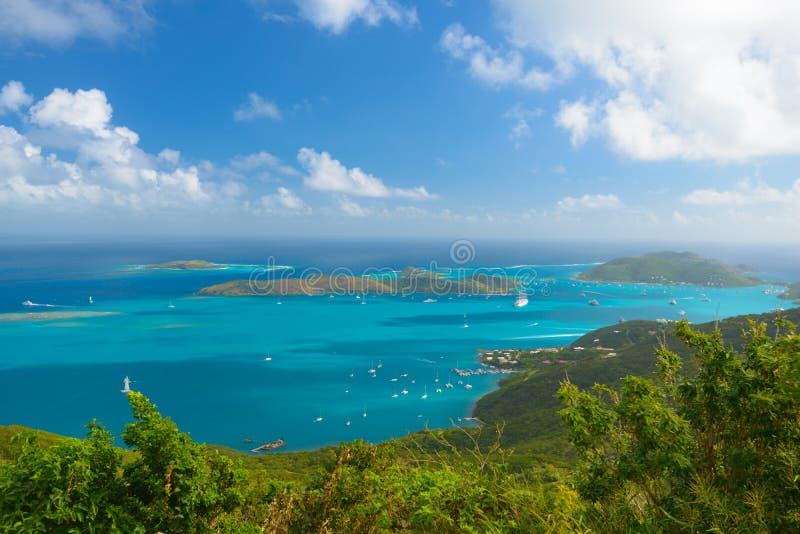Virgin Gorda, British Virgin Islands. Virgin Gorda in the British Virgin Islands of the Carribean royalty free stock image