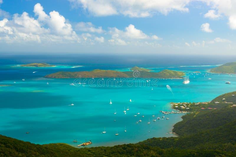 Virgin Gorda, British Virgin Islands. Virgin Gorda in the British Virgin Islands of the Carribean stock image
