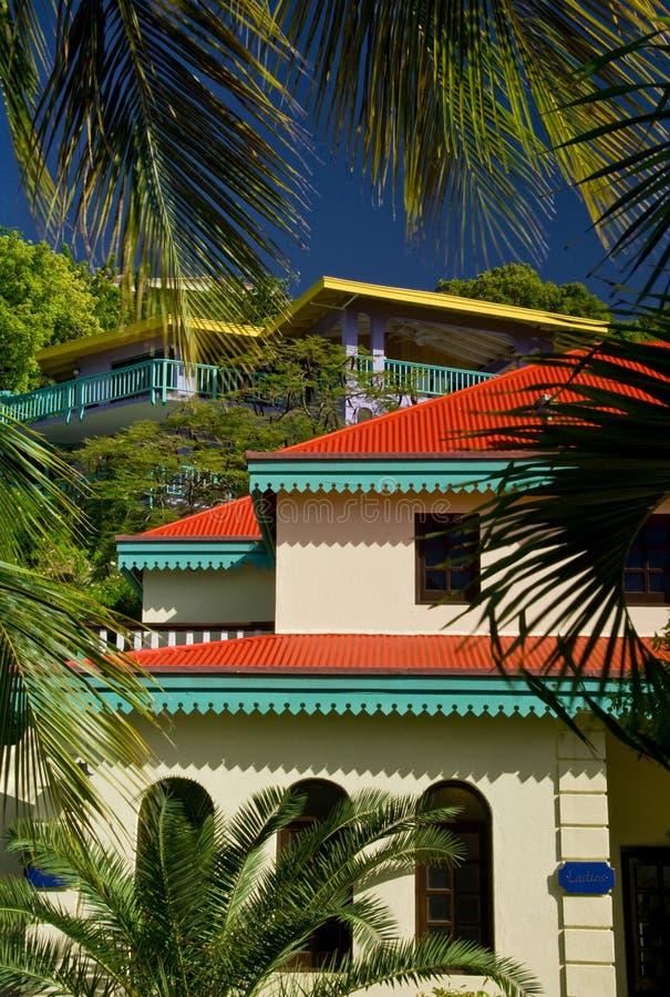 Virgin Gorda Island Resort royalty free stock photo