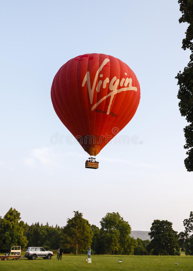 The Virgin Hot Air Balloon Editorial Photo
