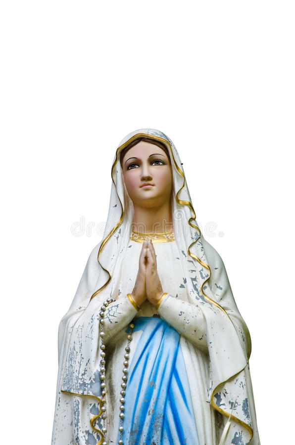 Virgin Mary immagine stock libera da diritti