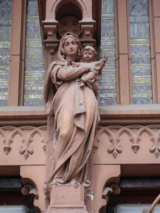 Virgin Mary fotografie stock