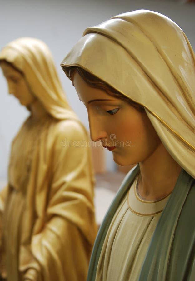Virgin Mary fotografia stock