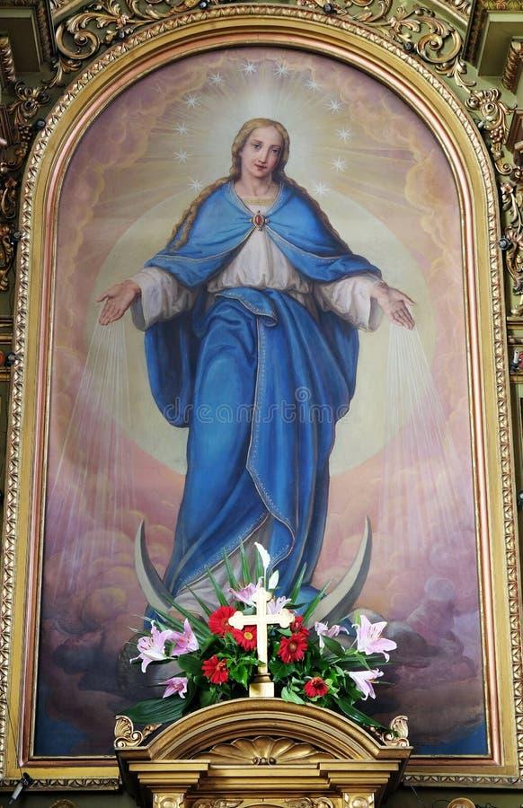 Virgin Mary fotografia de stock royalty free