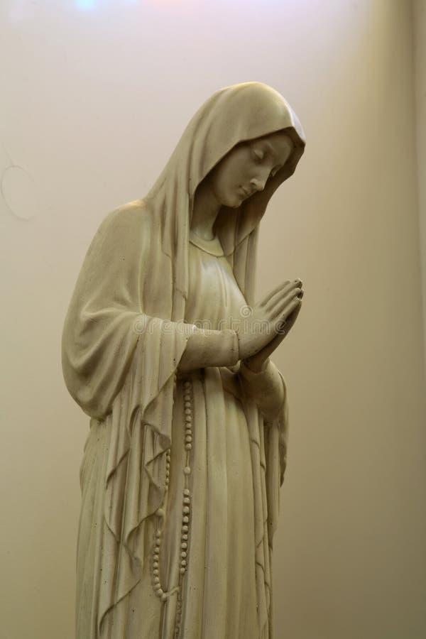 Virgin Mary abençoado foto de stock