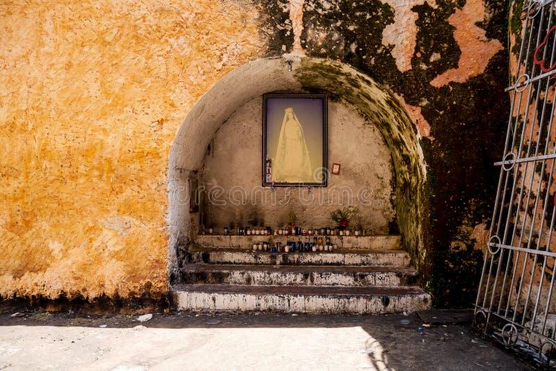 Virgin Mary Adoration imagens de stock