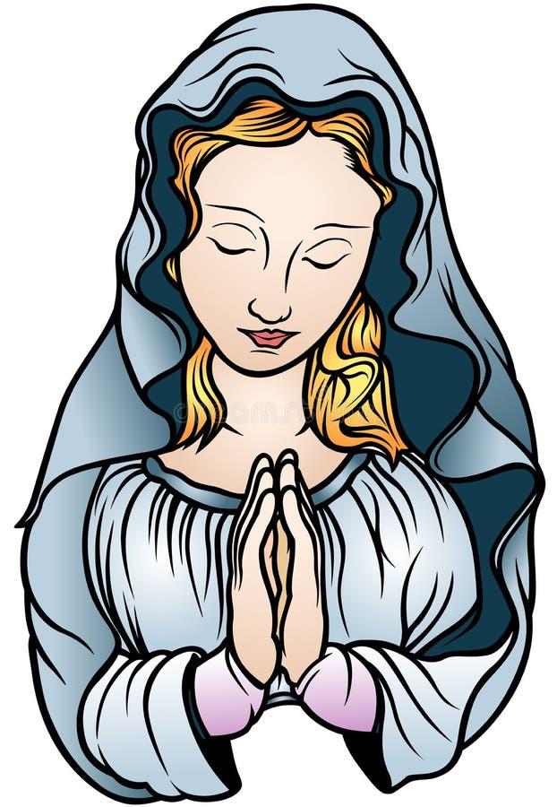 virgin-mary-colored-illustration-vector-51270948.jpg (622Ã?900)