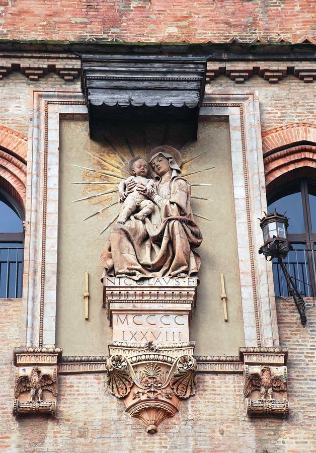Virgin Mary e Gesù Cristo fotografie stock libere da diritti