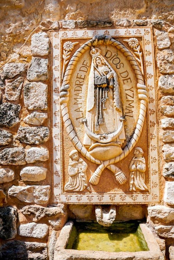 Virgin Mary Fountain imagem de stock royalty free