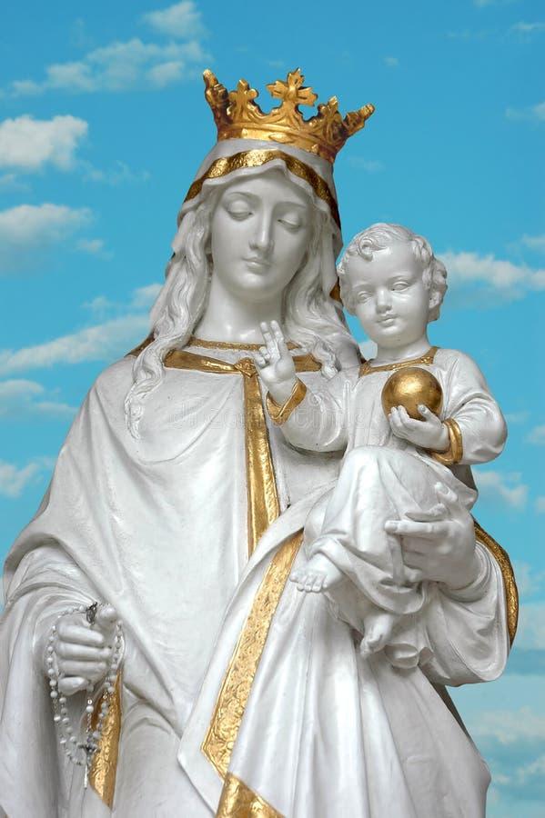 Free Virgin Mary & Jesus Stock Photo - 3074620