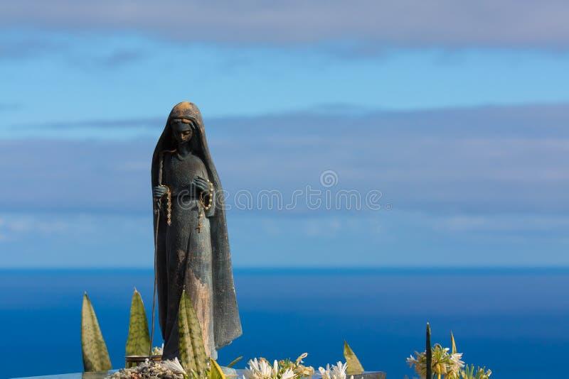 Virgin Of Porto Moniz Royalty Free Stock Photos