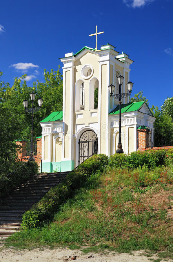virgin tomsk intercession строба церков святейший стоковые изображения