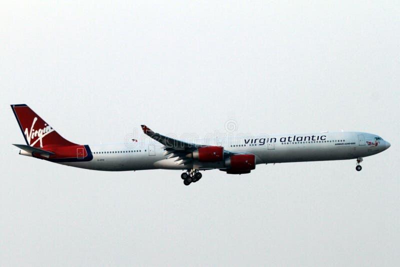 Virgina Atlantenflygplan arkivfoto